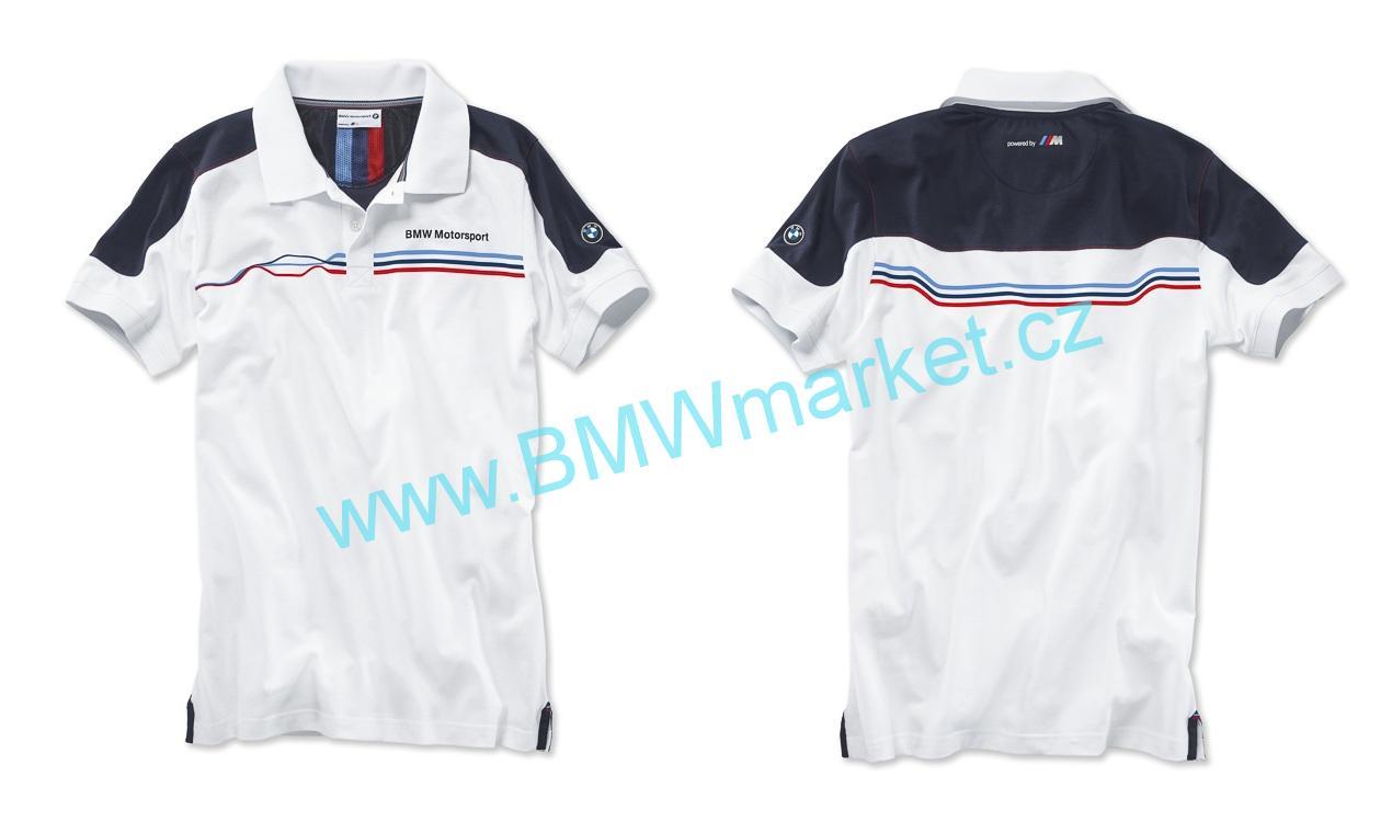 4f96519204a Pánské tričko BMW s límečkem Motorsport velikost M