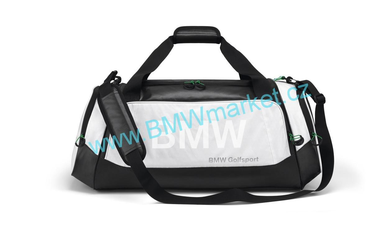 09f18a5fd5f Elegantní bílá sportovní taška BMW 80222285764