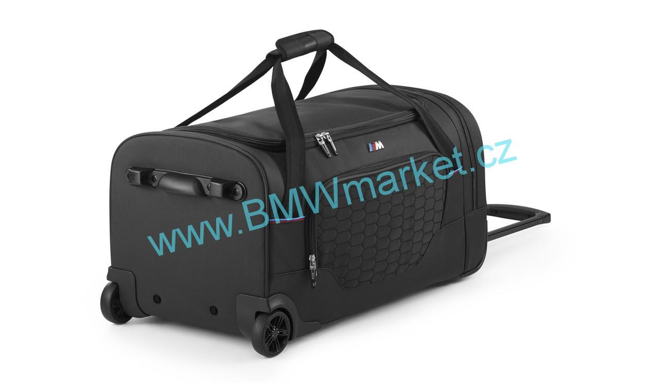 75af0a4a0e3 Cestovní taška BMW    M na kolečkách 80222410940
