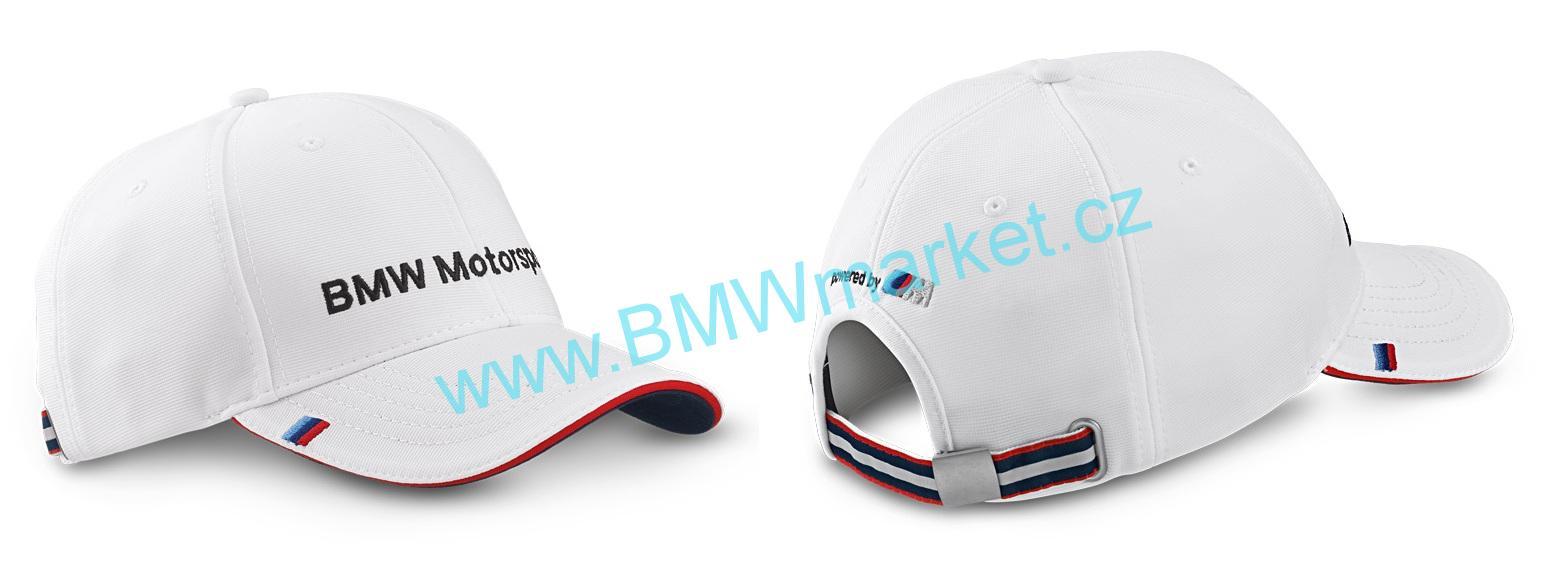Kšiltovka BMW čepice Motorsport bilá  54dd18c974