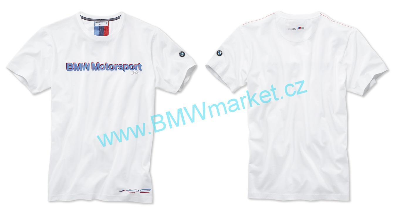 AKCE nejlevnější tričko BMW Motorsport pánské triko s krátkým rukávem ed0736b565