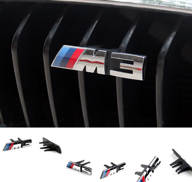 M3 M5 znak do ledvinek ///M logo do masky BMW F10 F30 F11